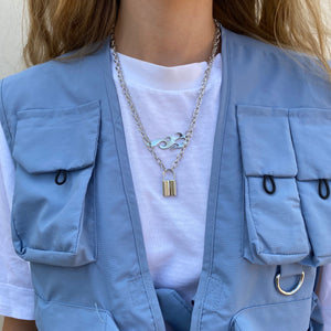 FLAMELOCK CHAIN - FLXNfashion