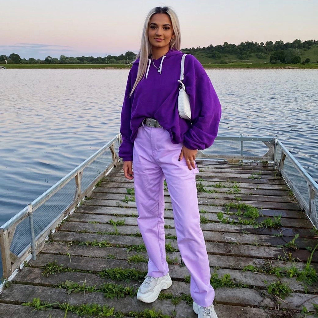 Lavender Trousers - FLXNfashion
