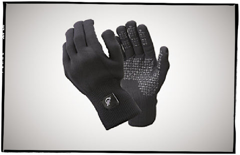 SealSkinz breathable gloves.