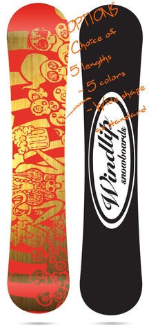 """Bamboo IOT Art-BEER"" Freestyle, all mountain  145-163cm."