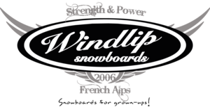 Custom snowboards designed by Windlip