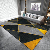 Geometric Beeswax Area Rug