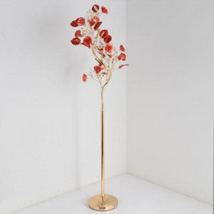Crystal Flower Floor Lamp