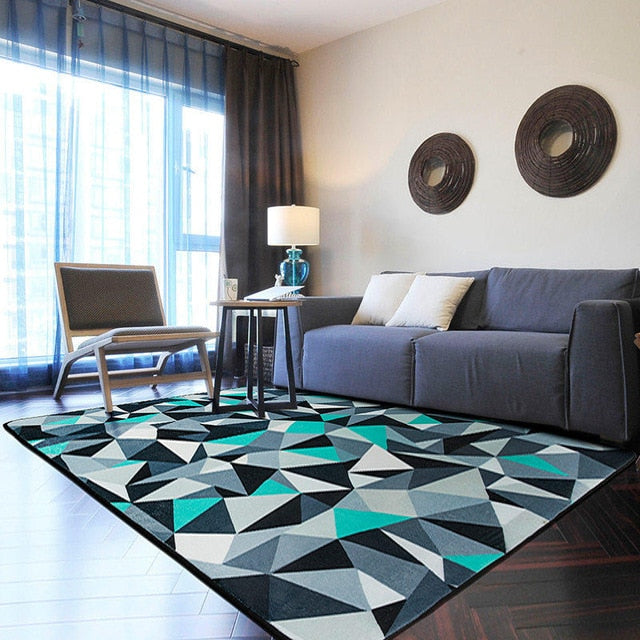 Decorative Fleece Rug