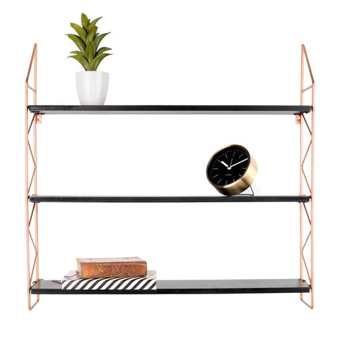 Wall Rack Zig Zag Copper