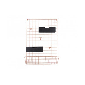 Memo Rack Grid Copper