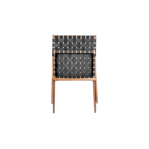 Woven Chair - Black Nylon