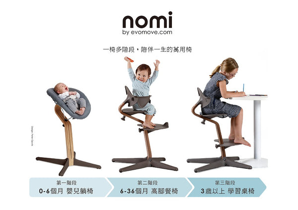 Nomi High Chair - White