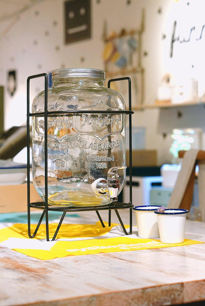 Water Dispenser with Metal Stand (accept pre-order)