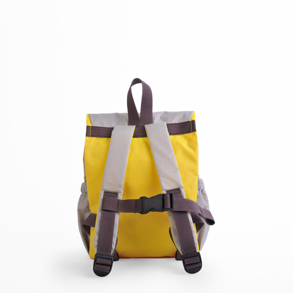 Linus Outdoor Backpack - Gray/ Yellow