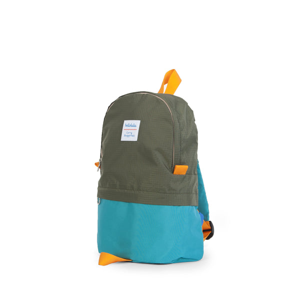 Pili - All-day Backpack - Olive/ Lake Green