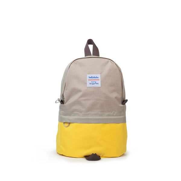 Pili - All-day Backpack - Gray/ Yellow