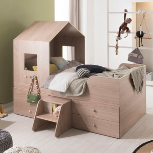 FAMILY TRIP Mini House Bed with Drawers & Staircase (accept pre-order)