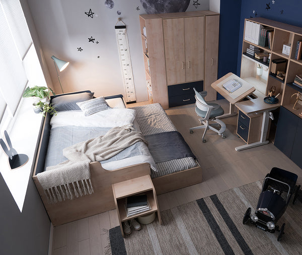 COMME Junior Sliding Bed with Drawers (accept pre-order)
