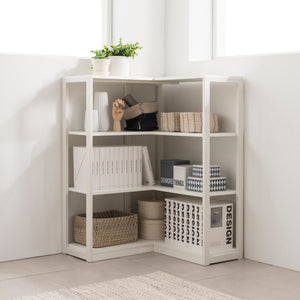 Module+ 3-Level Corner Shelf 800