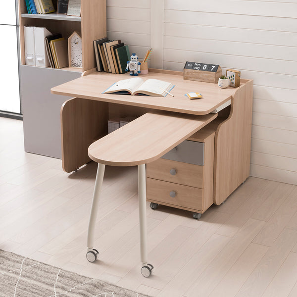 [Display Sale] RUDI Desk 1200 with Rotating Desk Set & LED & Audio System