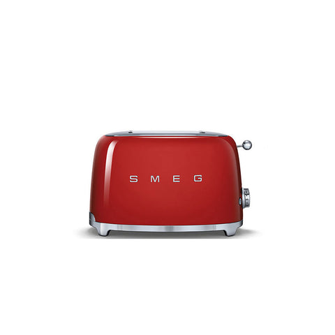 50's Retro Style Aesthetic - 2 Slice Toaster Red