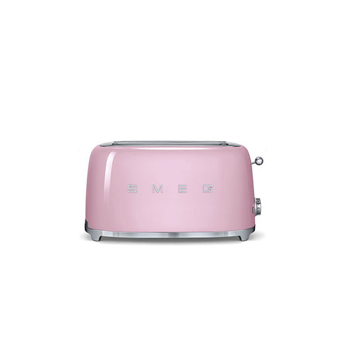 50's Retro Style Aesthetic - 4 Slice Toaster Pink