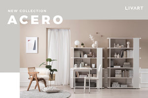 Acero 4-Level Cabinet (accept pre-order)