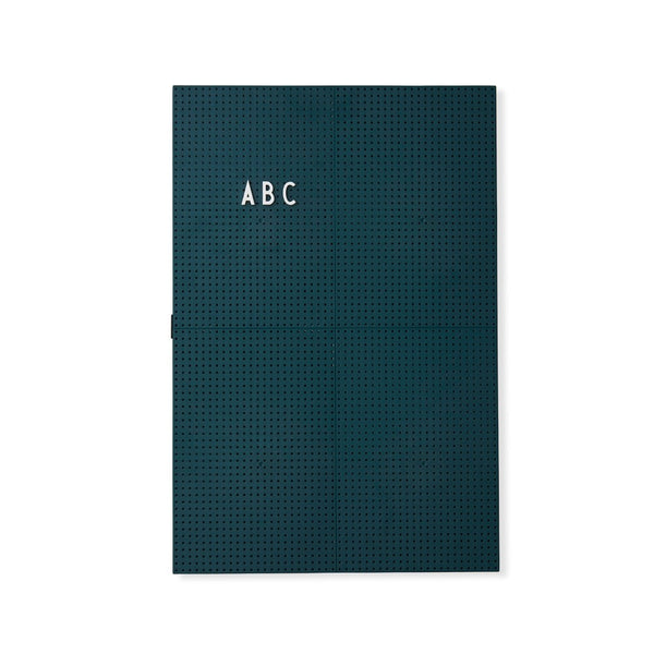 Message Board A3 - Dark Green