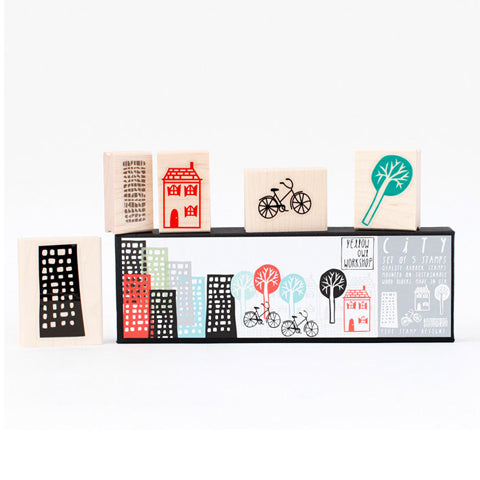 City Stamp Set