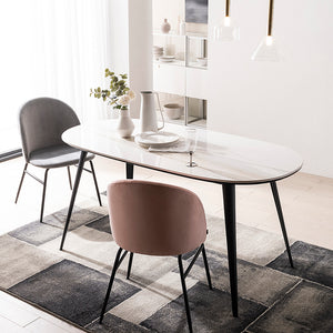 [Special] Barrio Dining Table 1600/1800 with 4 Chairs Set (accept pre-order)