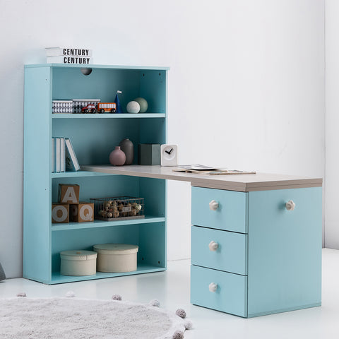 New Comme Bookshelf with Extended Desk Drawer (accept pre-order)