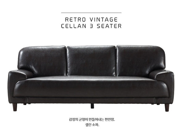 CELLAN Wine Black (3 seater)