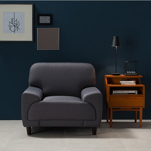 CELLAN Woven Dark Gray (1 seater)
