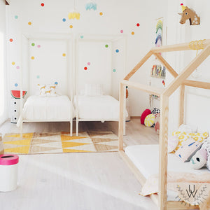 Easy Wall Sticker - Confetti Polka Dots Rainbow (accept pre-order)