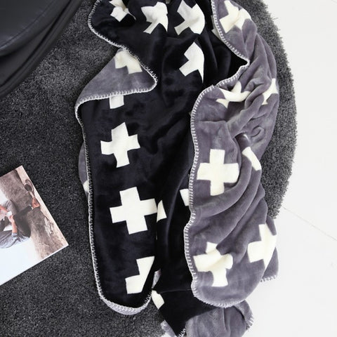Cross Double-sided Blanket