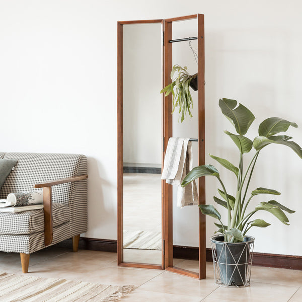 FIKA Clothes Rack Mirror