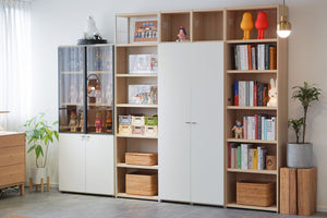 Join 400 6-level Wood Cabinet with Door (accept pre-order)
