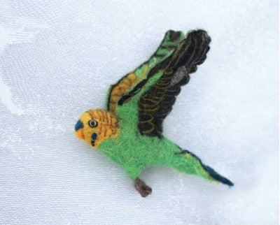 Wall Decoration - Flying Budgie Trio (accept pre-order)
