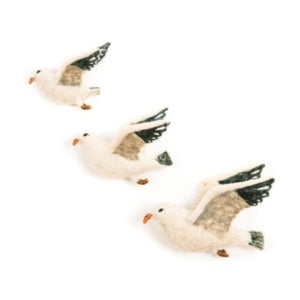 Wall Decoration - Flying Seagull Trio (accept pre-order)