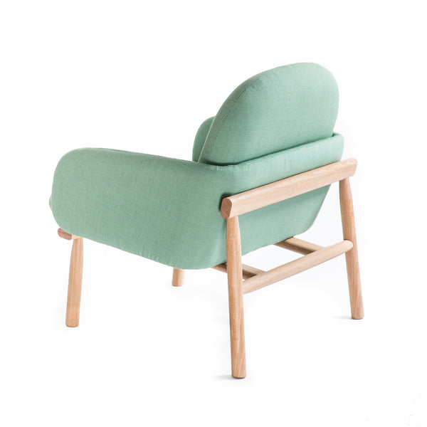 Armchair Georges - Water Green