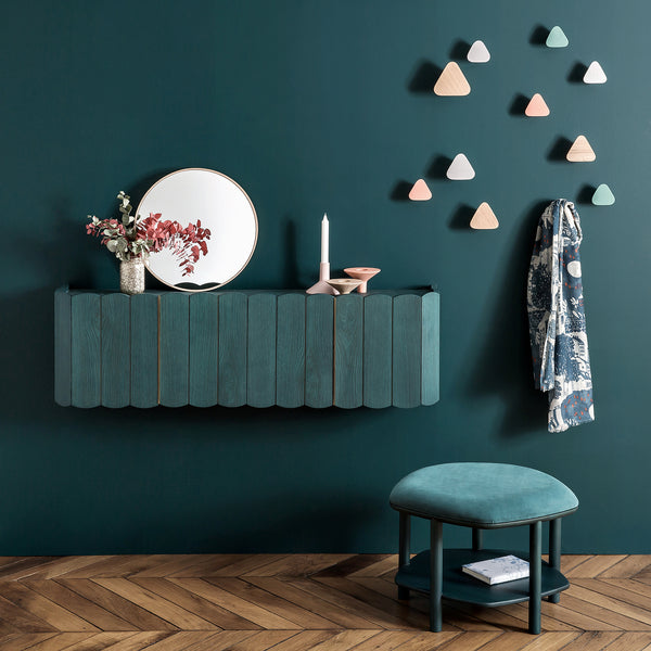 Leonie Coat Hook Petrol Blue