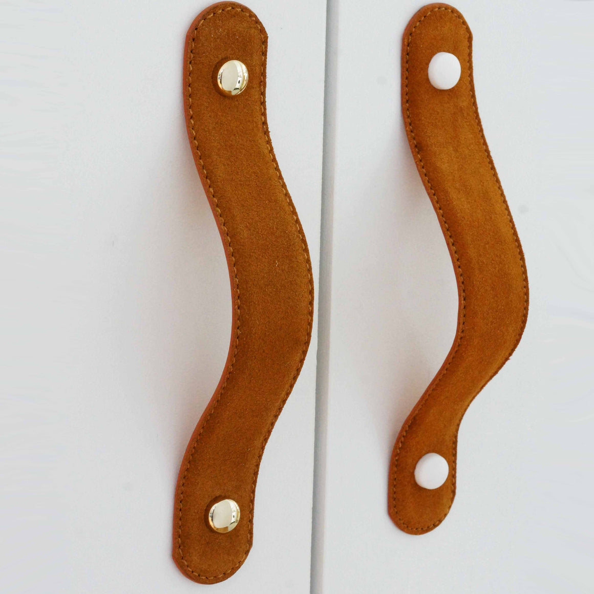 Suede Handle - Caramel (1pc)