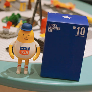 USA N10 Nation Figure