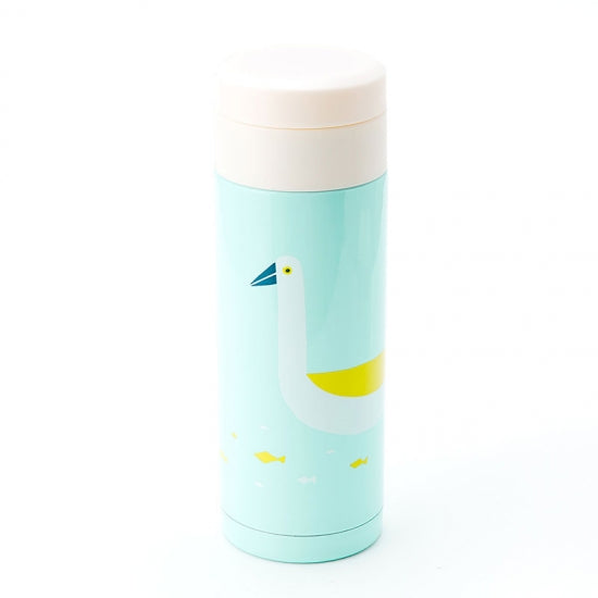 IROHA Cute Japanese Bird Print Water Bottle