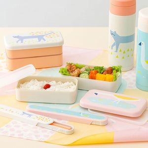IROHA Cute Japanese Bird Rectangle Lunch Box