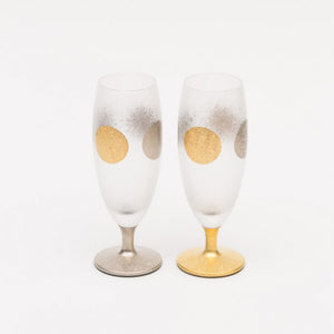 ISHIZUKA Sun and Moon Champagne Glass Set (2pcs)