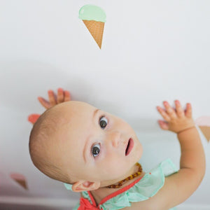 Easy Wall Sticker - Ice Cream (accept pre-order)