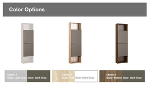 Join 600 6-level Wood Cabinet with Point Door (accept pre-order)