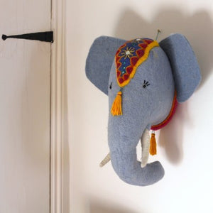 Wall Decoration - Elephant Head (accept pre-order)