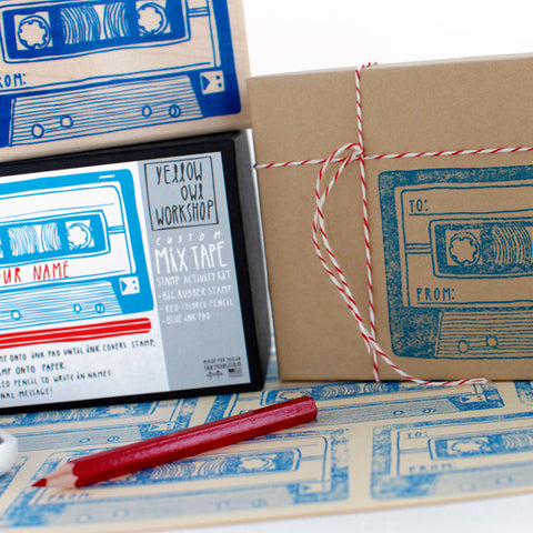 Mixtape Stamp Kit