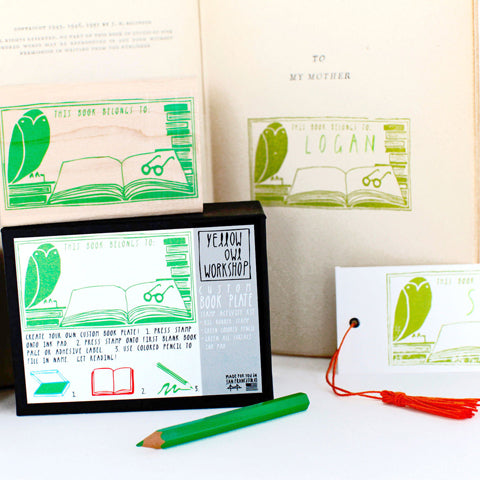 Book Plate Stamp Kit