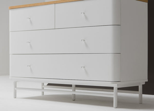 Kuss Wide Cabinet 4 Drawers (accept pre-order)