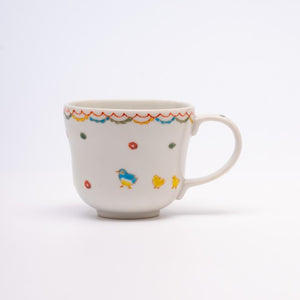 KUTANIYAKI Small Bird Mug