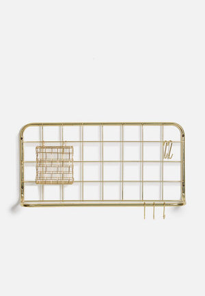 Kitchen Rack Set - Gold